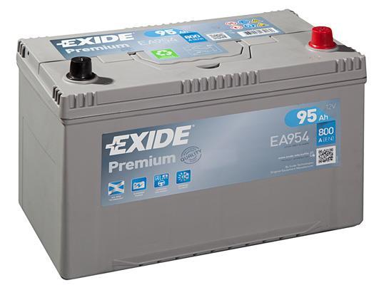 Akumulator Exide Premium 12V 95AH 800A(EN) R+ Exide EA954