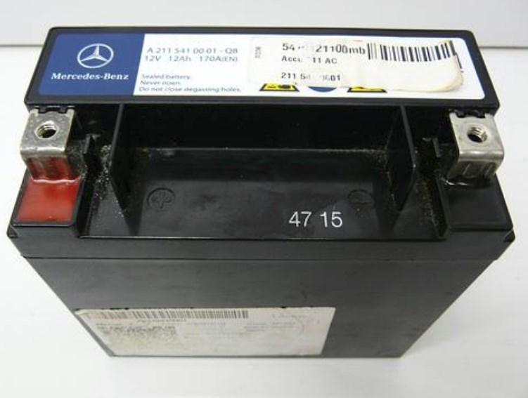 Akumulator Mercedes 12V R+ Mercedes A 211 541 00 01
