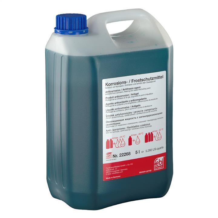 Koncentrat środka G11 ANTIFREEZE, niebieski, 5 l