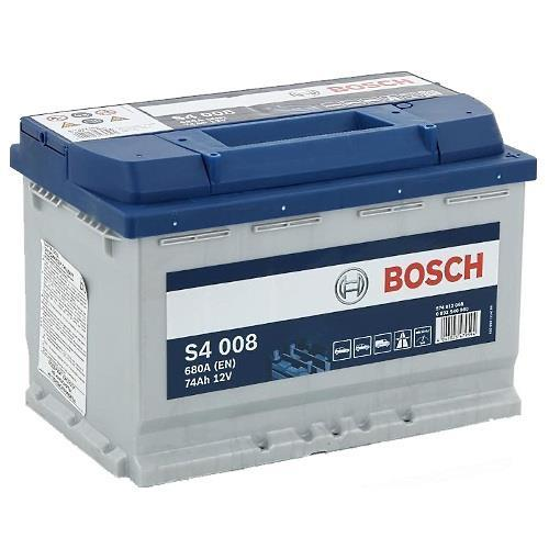 Akumulator Bosch S4 008 12V 74AH 680A(EN) R+