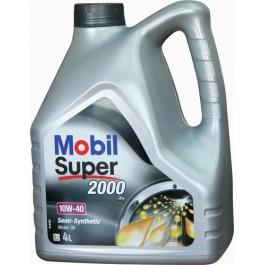 Olej silnikowy Mobil  Super 2000 X1 10W-40, 4 l