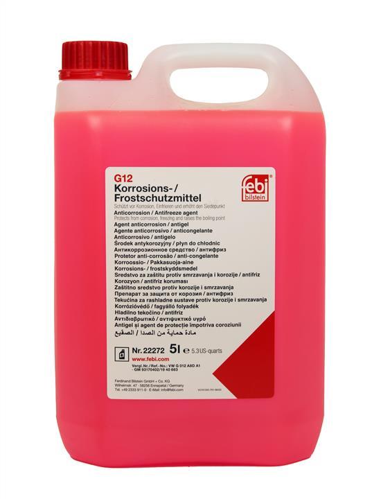 Koncentrat środka G12 ANTIFREEZE, czerwony, 5 l
