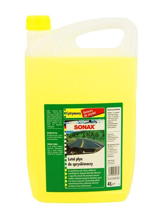 Płyn do spryskiwaczy concentrate, lemon, 4 L