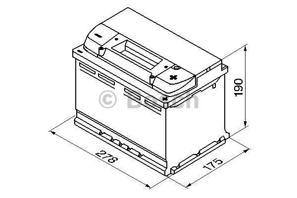 Akumulator Bosch 0 092 S40 080 - zdjęcie 7
