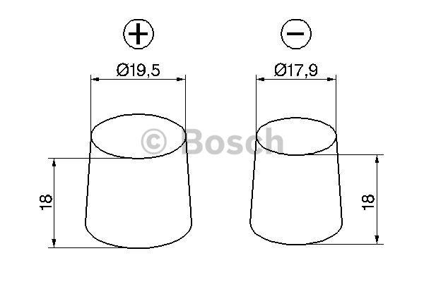 Akumulator Bosch 0 092 S40 080 - zdjęcie 6
