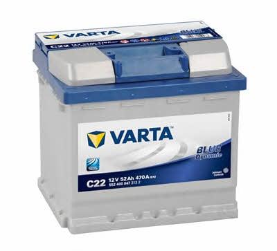 Akumulator Varta Blue Dynamic 12V 52AH 470A(EN) R+ Varta 5524000473132